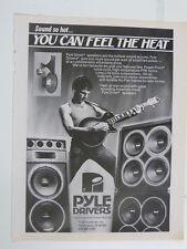 retro magazine advert 1985 PYLE DRIVERS