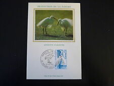 FRANCE PREMIER JOUR FDC N° 1820  L AIGRETTE GARZETTE  0,70F VILLARS LES DOM 1975