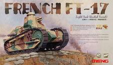 Meng Model 1/35 TS-011 French FT-17 Light Tank (Riveted Turret)