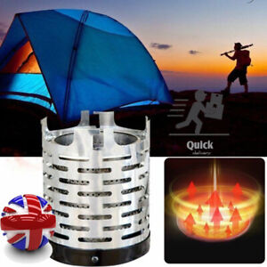 Portable Heater Cover Camping Equipment Warmer Outdoor Mini Tent Heating Stove