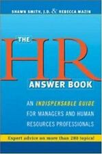 The HR Answer Book : An Indispensable Guide for Managers and Human Resources...
