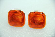 2X AUDI A3 A4 A8 SKODA SUPERB FABIA OCTAVIA ORANGE SIDE INDICATOR AMBER NEW PAIR