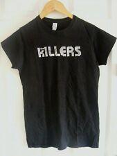 killers t shirt,ladies t shirt,size medium,black,ideal for summer/holidays