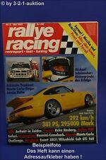 Rallye Racing 5/92 Lancia Delta Porsche Turbo 928 GTS