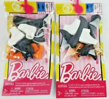 2018 Barbie Fashion Accessory Shoe Pack, Short Petite lot of 2