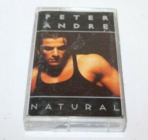Peter Andre Natural Cassette Tape Mushroom C2005 1996