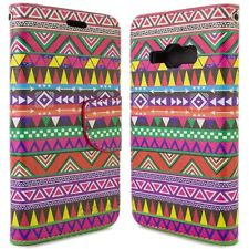for Samsung Galaxy J1 Ace Wallet Case - Tribal Design Folio Phone Pouch