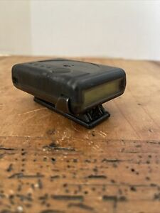 NEC Radio Pager-Vintage Pager/Beeper/Radio Pager Clear Black FAST SHIPPING (J-3)