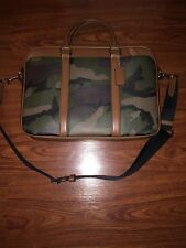 Coach Camo Laptop Bag