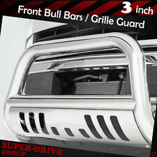 S/S Bull Bar Front Bumper For 99-04 FORD F-250 F-350 F-450 SUPER DUTY Brush Push
