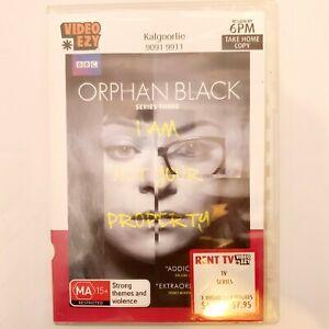 Orphan Black Season 3 DVD TV Series Free Post Region 4 AUS - Drama