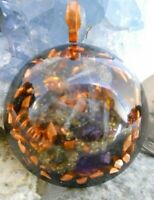 Orgone Pendant Experience Powerful Crystal Healing - Blue Kyanite