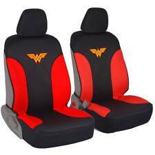 Wonder Woman Seat Covers for Car SUV Van - 100% Waterproof 2pc Set