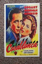 Casablanca Movie poster Lobby Card #1 Humphrey Bogart - Ingrid Bergman