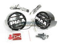 PIAA LP 530 High Intensity LED Round Driving Light Kit Fog Lamps 6000k 5372 NEW