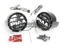 PIAA LP 530 High Intensity LED Round Driving Light Kit Fog Lamps 6000k 5372 NEW