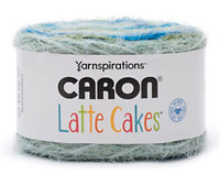 Caron Latte Cakes Yarn Mineral Vineyard 530 Yrds Yarnspirations 1 BALL w Pattern