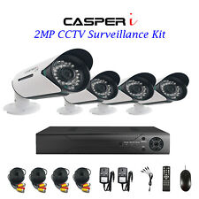 CCTV Security System for Home/Shop 8CH 1080N AHD CCTV DVR 2.0MP 4xBullet Cameras