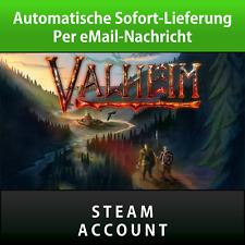 ? Valheim Steam Account Download PC Game No Key Code ? Sofortversand 1 Min.
