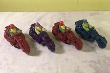 2012 McDonalds TMNT TEENAGE MUTANT NINJA TURTLES TMNT - Cycle Toy Lot