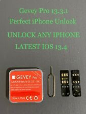 New Gevey Pro V13.1 Iccid+Mnc Unlock Sim Card Chip For All Iphones On Ios 13.4