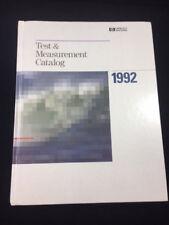 1992 Hewlett Packard Test Amp Measurement Catalog 782 Pages