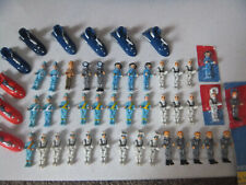 Thunderbirds Supersize Replacement Mini Figures & Scooters Alan Virgil Scott SEE
