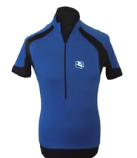 A306 Giordana Half Zip Cycling Jersey Short Sleeve Adults Size Small FREE POST