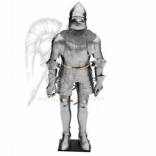 medieval armour full body armour Late 14th century pig face suit of armour