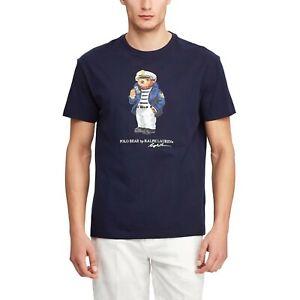 Ralph Lauren Polo Bear shirt navy blue S-3XL