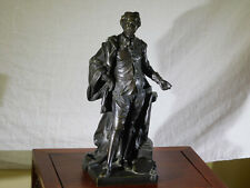 RARE-Jean Michel Rysbrack c1743 Bronze Sculpture Figure
