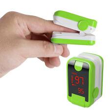 Portatile LED Saturimetro Da Dito Ossimetro Misuratore Ossigeno Pulsossimetro