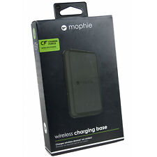Mophie Qi 7w Wireless Charge Force Charging Pad For Samsung & Apple Devices BLK