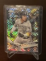 2017 Topps Chrome Yoan Moncada RC Xfractor SP White Sox Rookie Refractor Mint