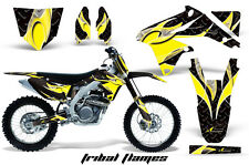 AMR Racing Suzuki RMZ450 Graphic Decals Number Plate Kit MX Stickers 08-15 TF Y