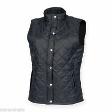 Autumn Patternless Gilet Coats & Jackets for Women