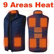 Heated Vest Warm Coat Thermal Electric USB Jacket Men Women Heating Winter Warm