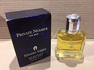 PRIVATE NUMBER ETIENNE AIGNER EDT 50 ML / 1.7 OZ SPRAY MEN NIB ORIGINAL