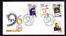 Malta 1996 Anniversaries & Events First Day Cover FDC SG 1018 - 21 Not Addressed