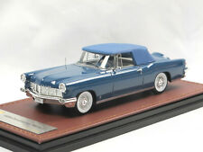 GLM 102702 1956 Lincoln Continental MK II Convertible Top Up blue 1:43 Limited