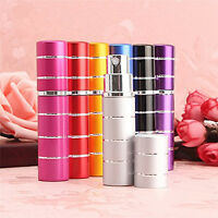 Perfume Aftershave Atomizer Bottle 5ml /10ml Pump Travel Refillable Spray