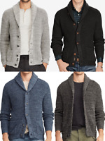 Polo Ralph Lauren Cotton Shawl Collar Knit Sweater Cardigan Regular Fit Men