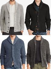 Polo Ralph Lauren Cotton Shawl Collar Knit Sweater Cardigan Regular Fit Men