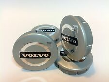 VOLVO Cache Moyeux Centres de Roue Chrome Emblem 4p x 60mm/55mm  *NEUF*