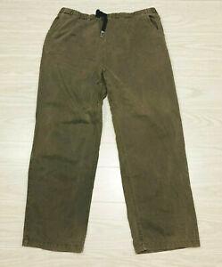 GRAMICCI Cotton Climbing Outdoor Original G Series Pants Mens Size XL 29 Length