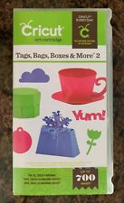 Cricut Cartridge - Tags, Bags, Boxes & More 2