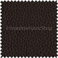 Reciclado Eco genuina piel de cuero Premium asiento de coche tapicería grano efecto marrón