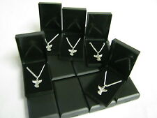 Job Lot 20 x  Silver Plated Necklaces 18inch & Angel Pendants with gift box