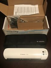 New in Box Visioneer Mobility Cordless Color Scanner with accessories and case