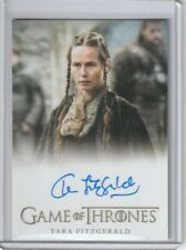 GAME OF THRONES THE COMPLETE SERIES TARA FITZGERALD  SELYSE BARATHEON AUTOGRAPH